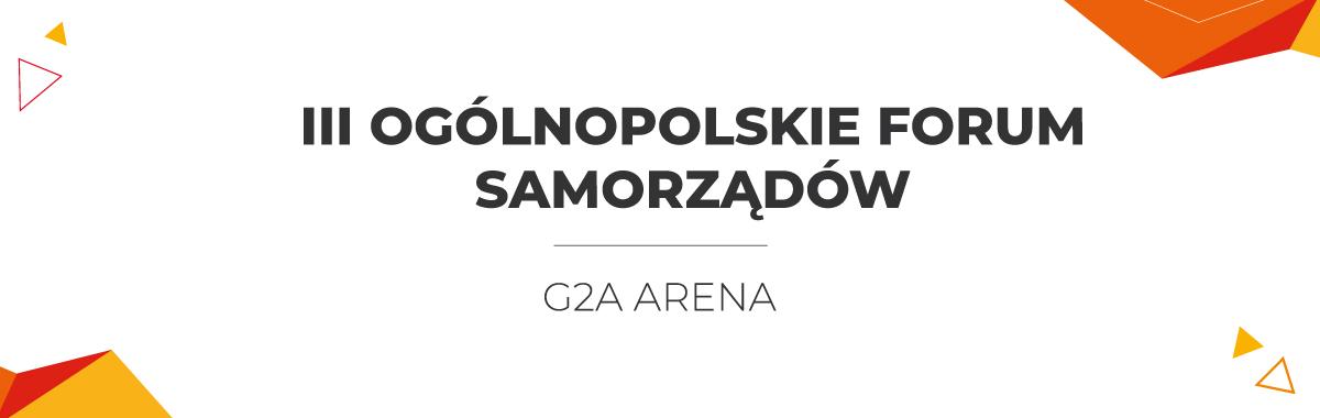 III Ogólnopolskie Forum Samorządów
