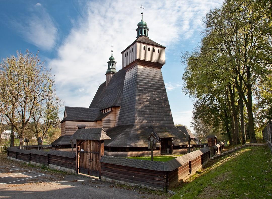 Haczów. Największa gotycka świątynia drewniana w Europie