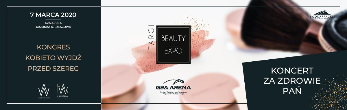 Kongres Kobieto – Wyjdź przed Szereg / Targi Beauty Expo / Koncert