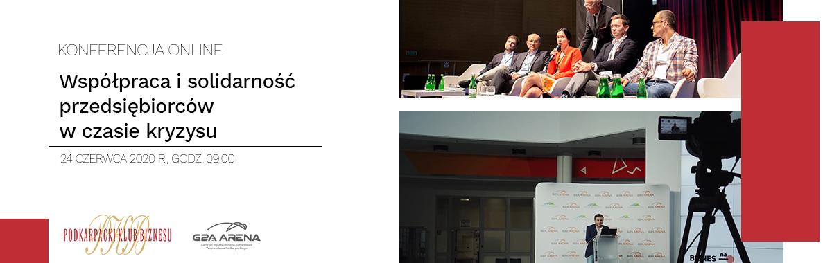 Konferencja Online – Współpraca i solidarność przedsiębiorców w czasie kryzysu