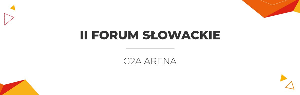 II Forum Słowackie