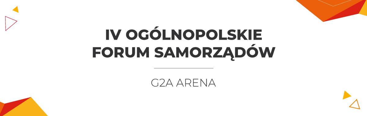 IV Ogólnopolskie Forum Samorządów