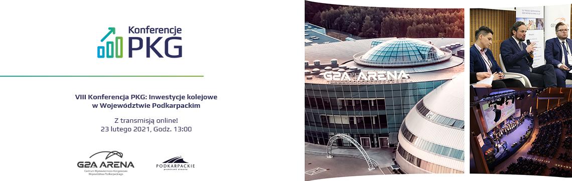 VIII Konferencja PKG: Inwestycje kolejowe w Województwie Podkarpackim